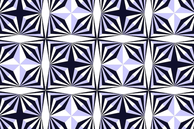 Optical illusion background Free Vector