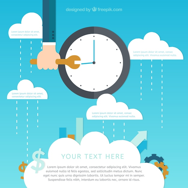 Optimization business concept Free Vector