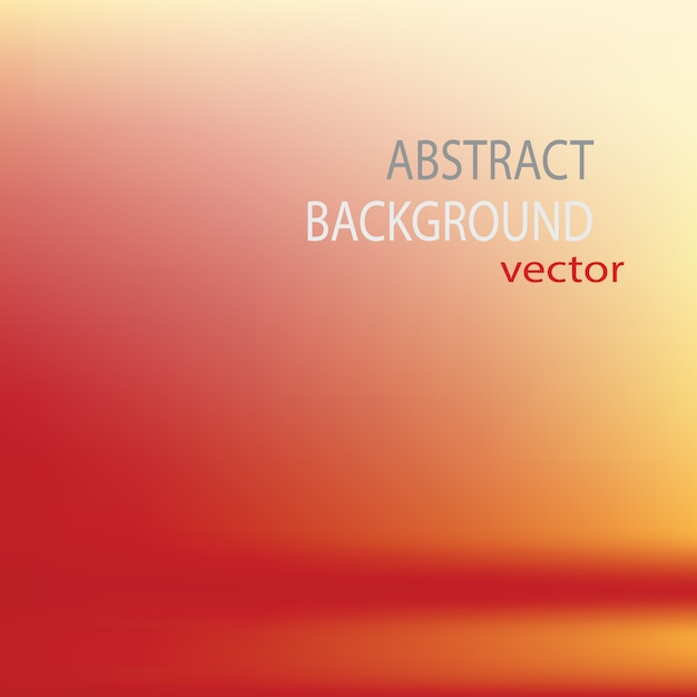 Orange abstract background Free Vector