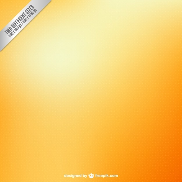 Orange blurry background Free Vector