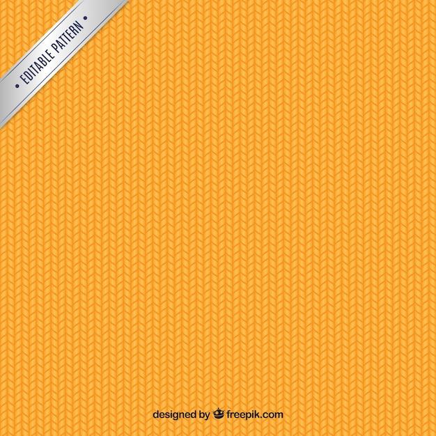Orange braided pattern Free Vector