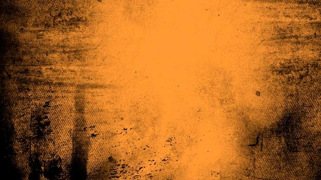 Orange distressed texture Free Vector