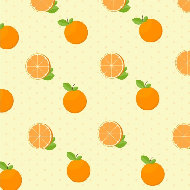 orange pattern Vector | Free Download