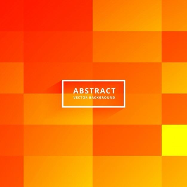 Orange polygonal background