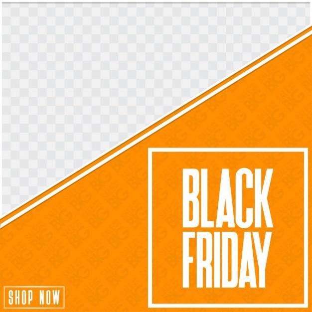orange template black friday vector free download. Black Bedroom Furniture Sets. Home Design Ideas