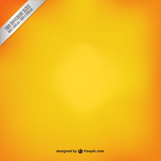Orange to yellow gradient Vector | Free Download