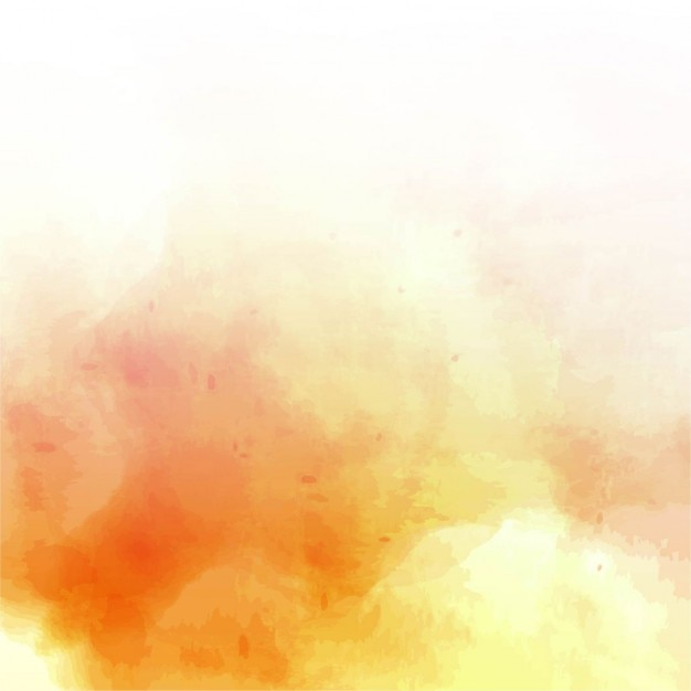 Orange watercolor background Vector | Free Download