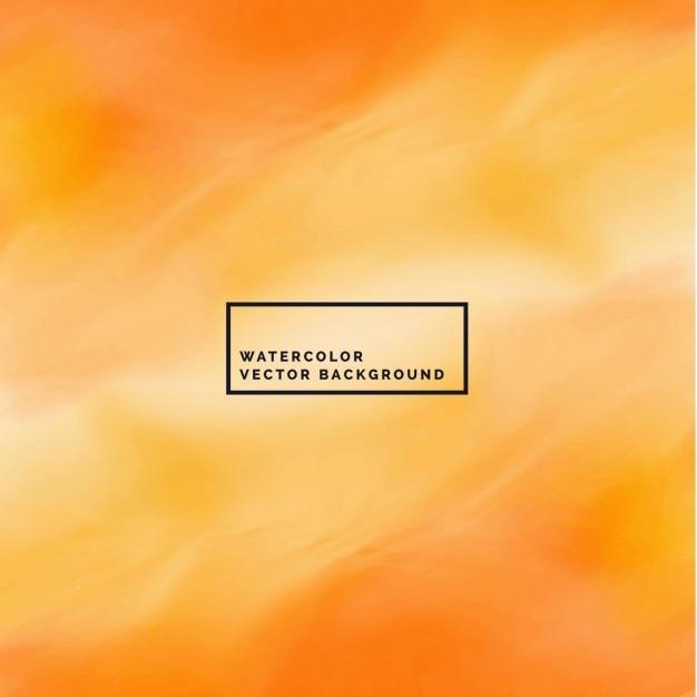 Orange watercolor texture