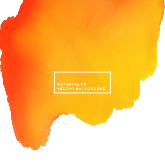 Orange watercolor, texture