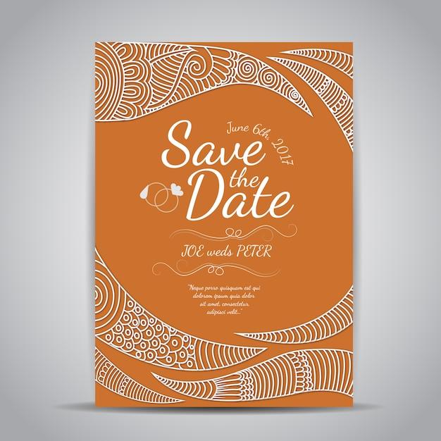 Citrus Respond Card Wedding Reception and Details Template Download PDF Orange Wedding Bundle Template Instant Download Invitation GANA