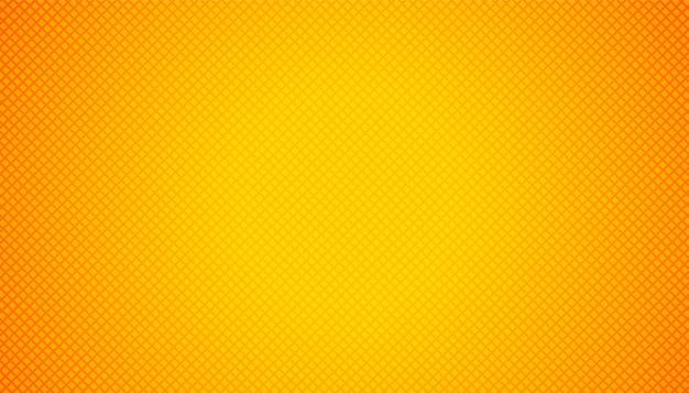 기하학적 패턴으로 빈 주황색 노란색 무료 벡터