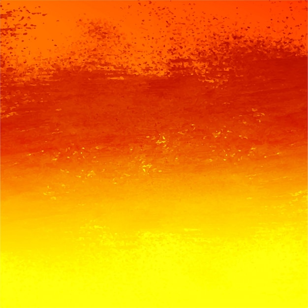Orange and yellow watercolor background design Vector ...