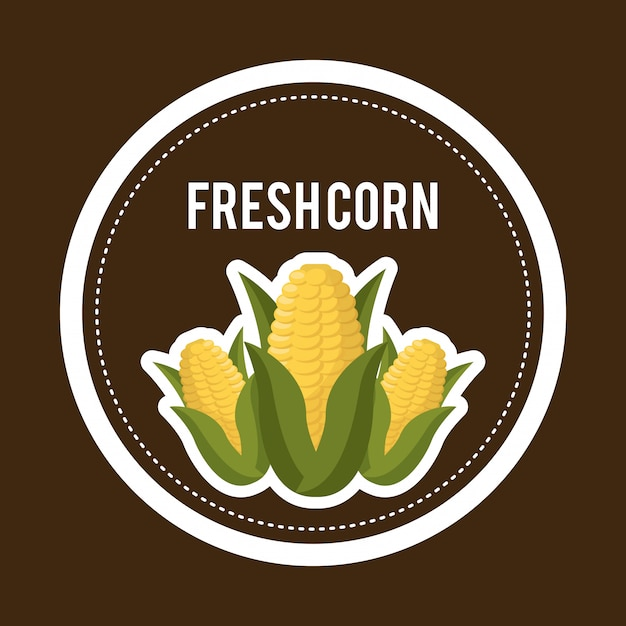 Organic food Free Vector