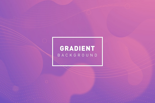 Organic gradient background Free Vector