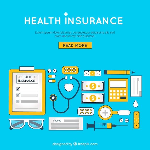 Organized set of health insurance\ elements