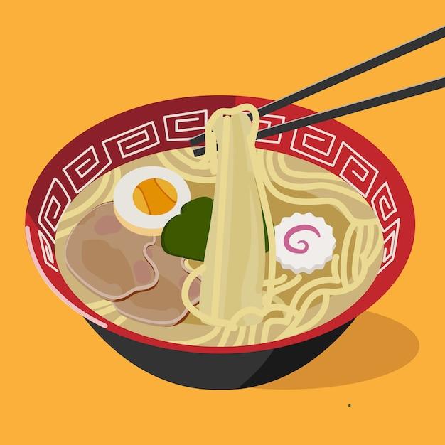 Oriental Food Free Vector