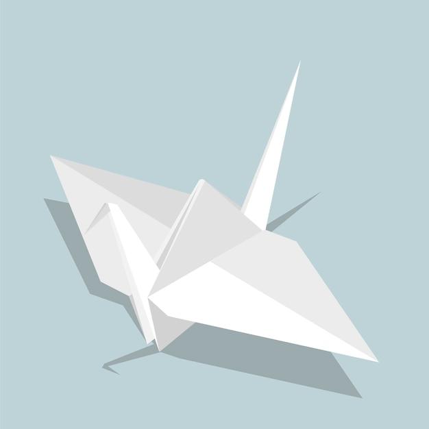 Origami Bird Vector Free Download