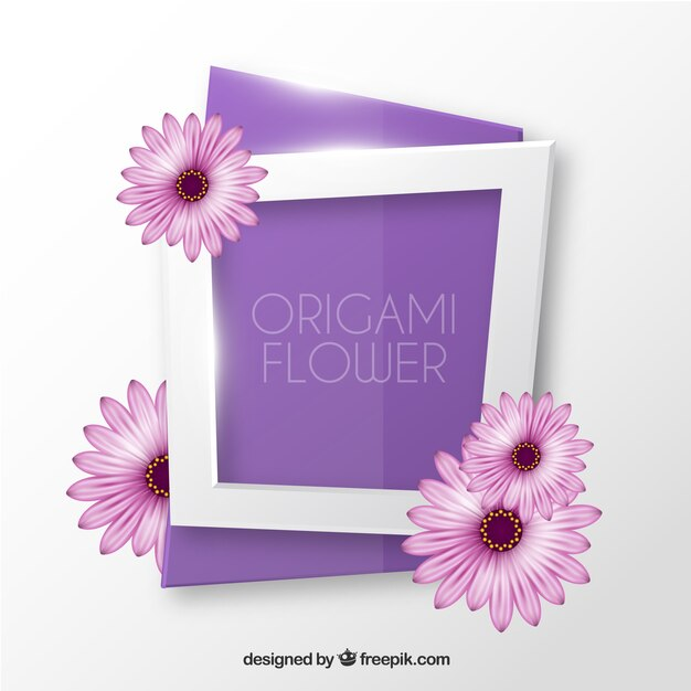 Origami flower vector free download origami flower free vector mightylinksfo