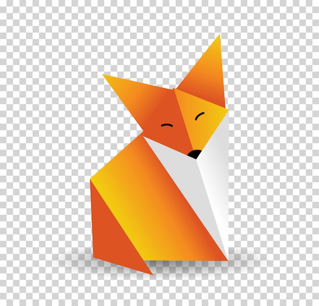 How To Make An Origami Fox Puppet - Folding Instructions - Origami ... | 600x626