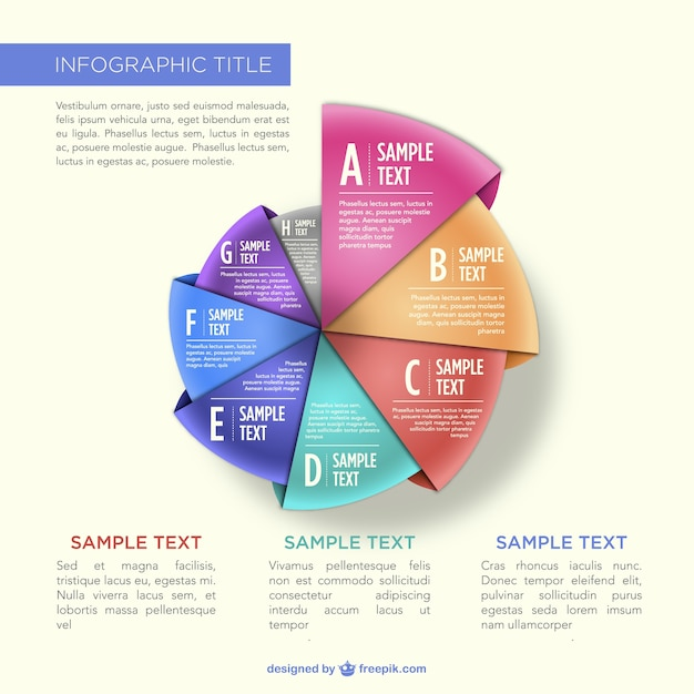 Origami pie chart infographic vector free download origami pie chart infographic free vector gumiabroncs Gallery