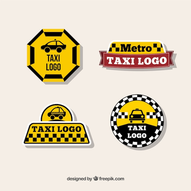 Original Logos For Taxi Companies Vector Free Download