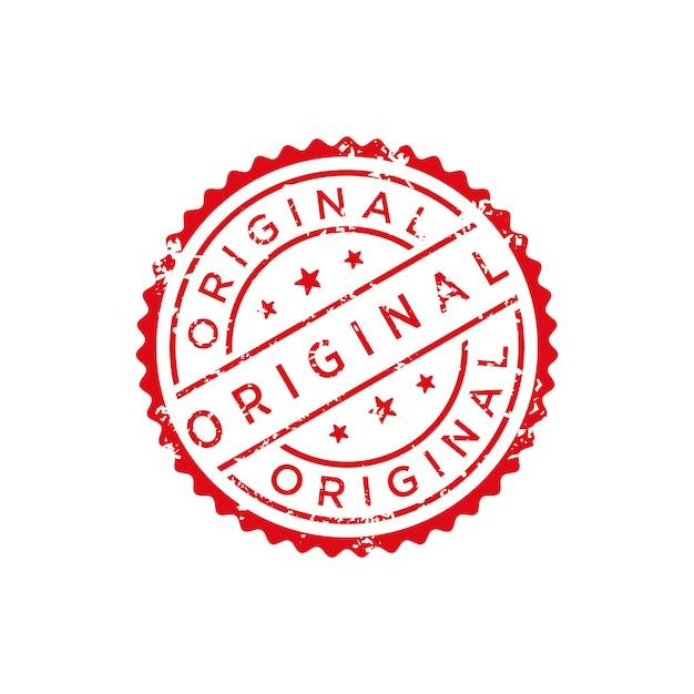 Original stamp vector Premium Vector