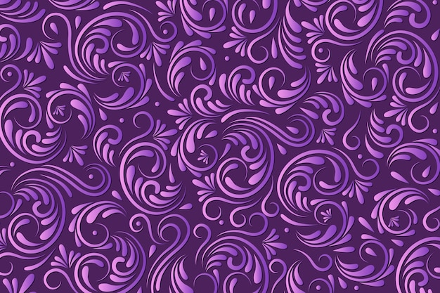 Ornamental abstract floral background Free Vector