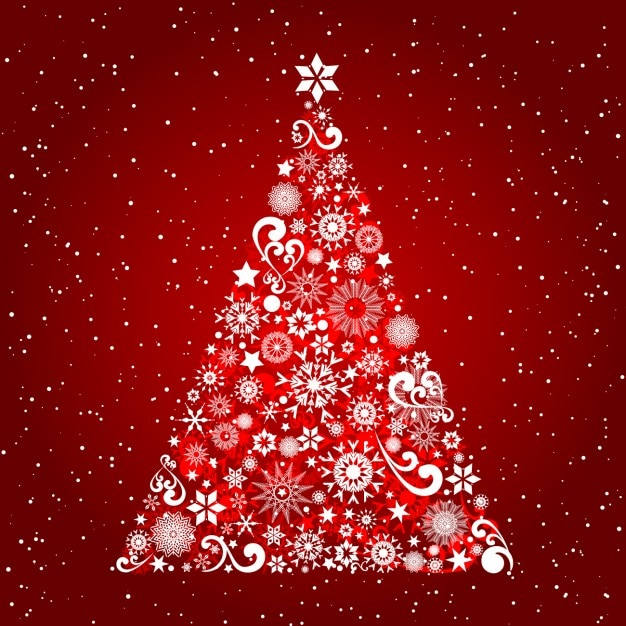 red christmas background ai - photo #4