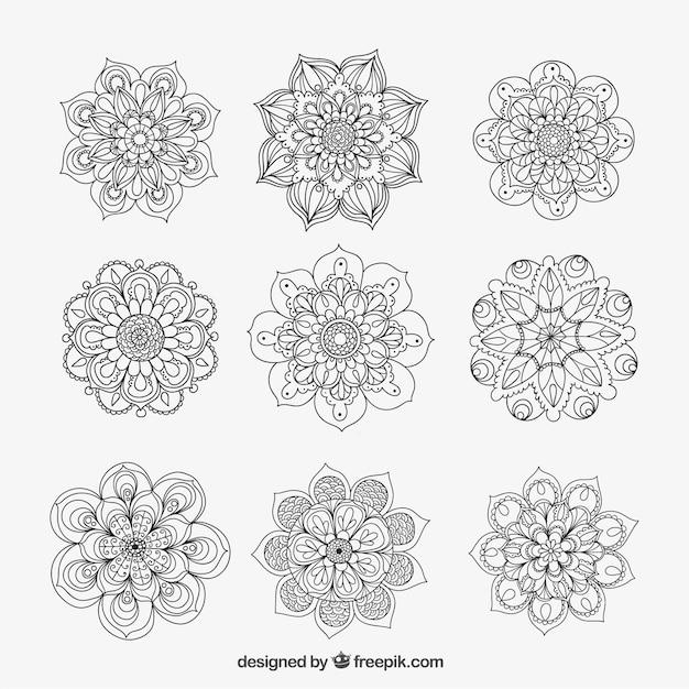 Ornamental mandalas Vector | Free Download