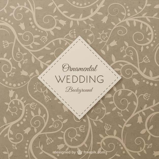 Wedding backgrounds free vector | ai format free vector download.