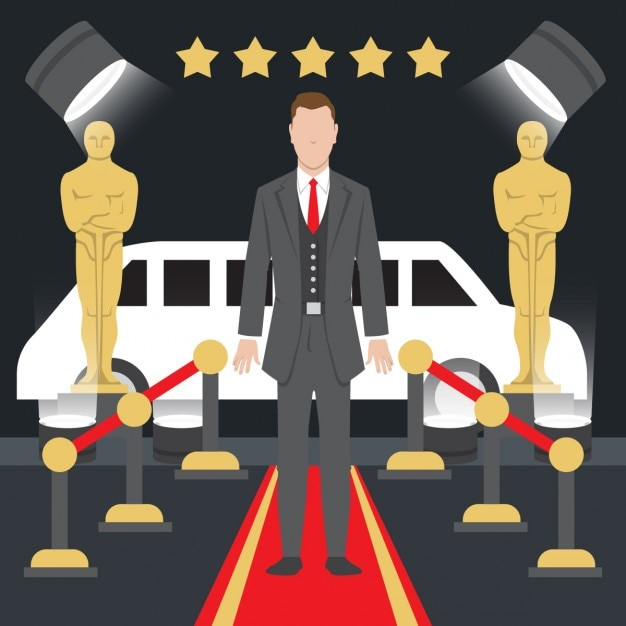 Oscar Awards Illustration 838958 on oscar statuette clip art