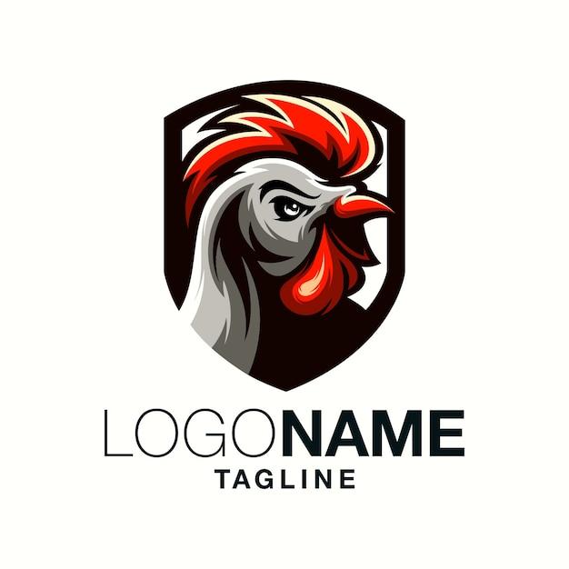 Osterのロゴデザイン Premiumベクター