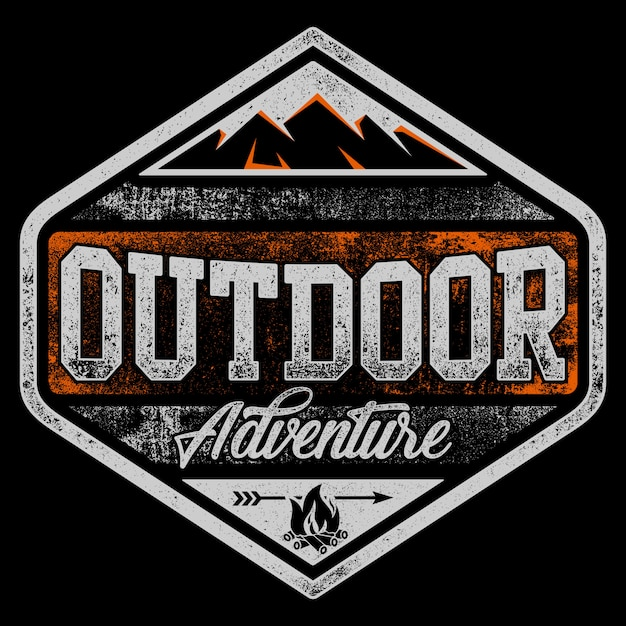 Outdoor adventure Premium Vector