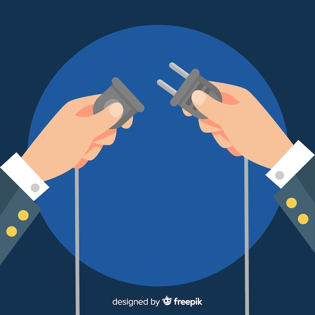 Outlet background Free Vector