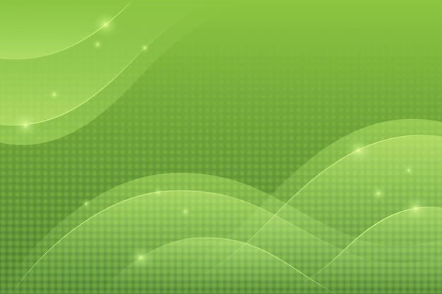 Overlapping forms background concept Premium Vector