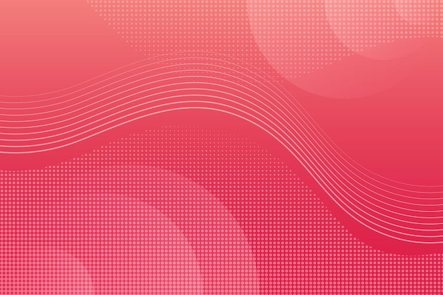 Overlapping forms background concept Free Vector