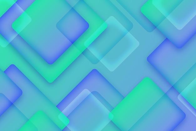 Sfondo di quadrati sovrapposti Vettore gratuito