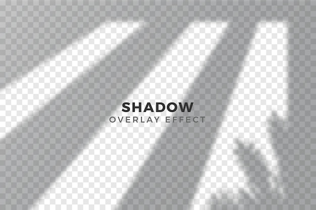 Overlay effect of transparent shadows concept Free Vector