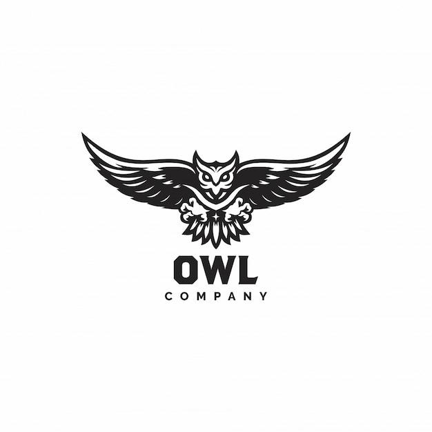 Premium Vector Owl Logo Vector Illustration On White
