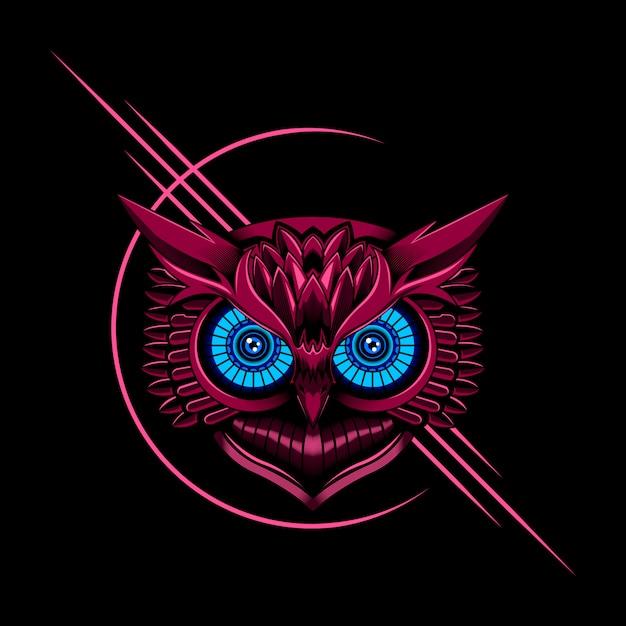 Owl vector illustration Premium Vector