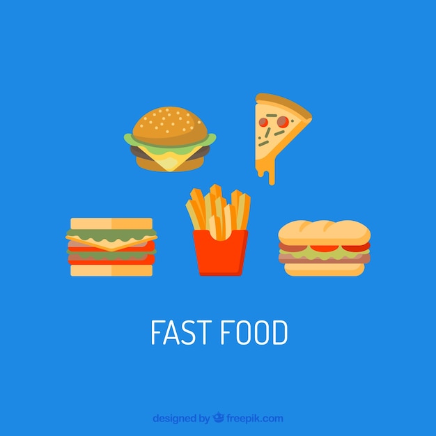 Pack Fast Food Elements
