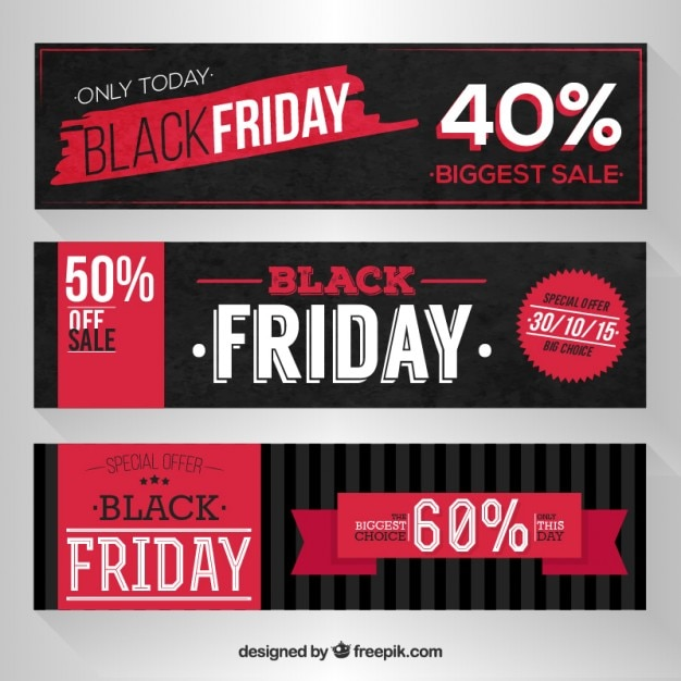 Black Friday Banner Vectors, Photos and PSD files | Free Download