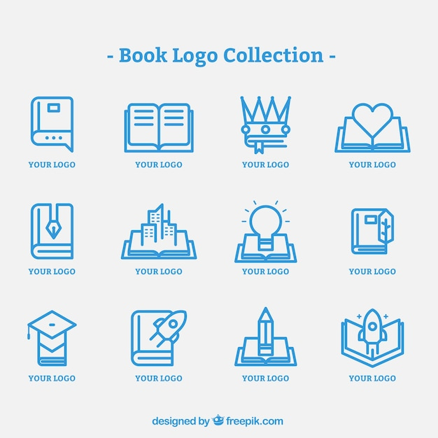 Book logo design