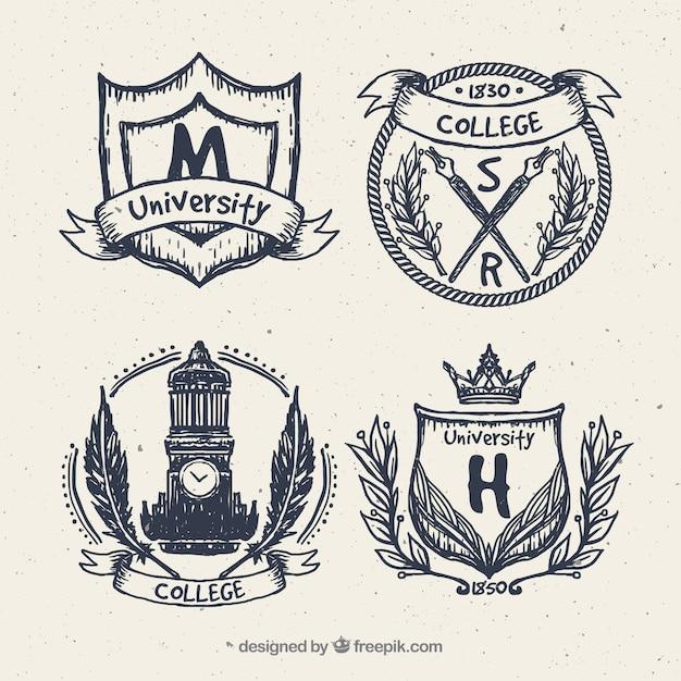 بسته مدالها کالج در سبک پرنعمت