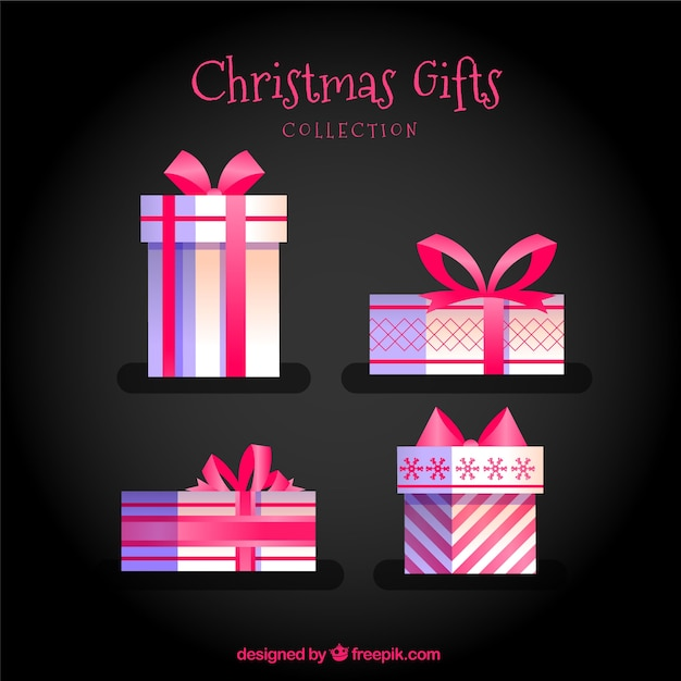 Four gifts christmas