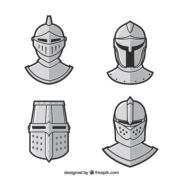 Pack of hand drawn armor