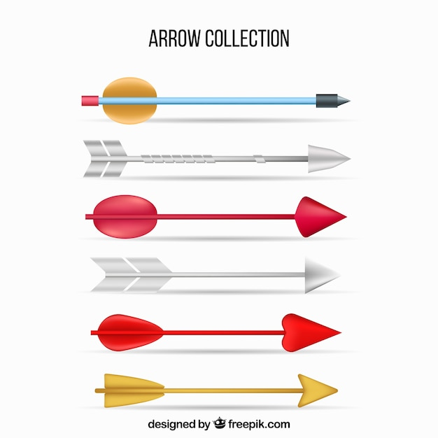 Pack of indian arrows
