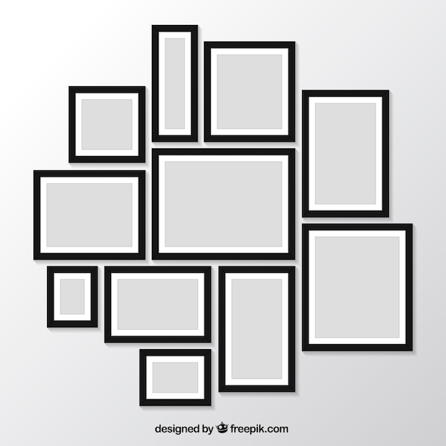 pack modern photo frames wall picture images for sale canada