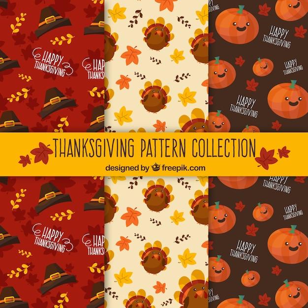 Pack of nice vintage thanksgiving patterns