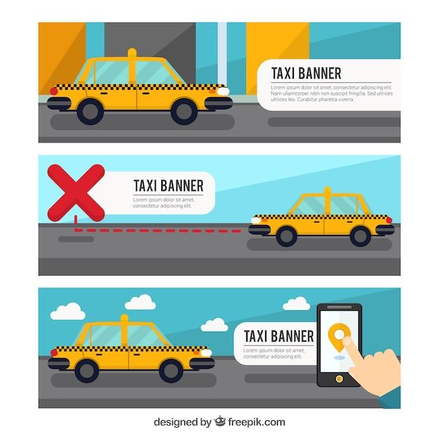 بسته سه آگهی ها تاکسی